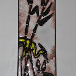 Ruscha ceramic wallplate