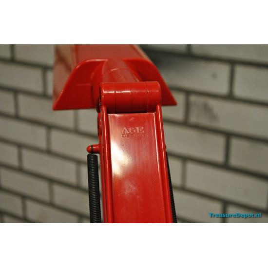 Fagerhults Sweden desk lamp red