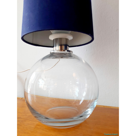 Set glass table lamps