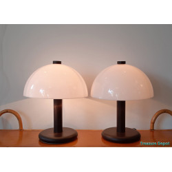 Set mushrooms table lamps