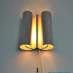 Sixties wall lamp tubes