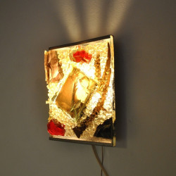 Glass wall lamp Cosack