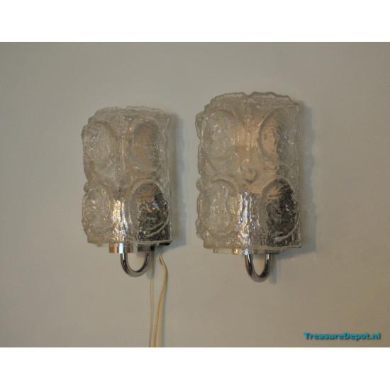 Glashütte Limburg wall lamp set