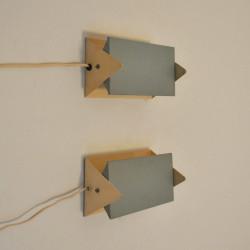 Set Anvia wall lamps by J. Hoogervorst