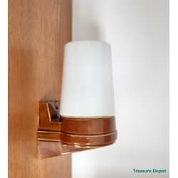 IFO Sweden '60 wall lamp brown