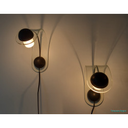 Set plexi wall lights