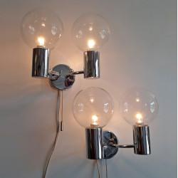 Staff Leuchten wall lamp set