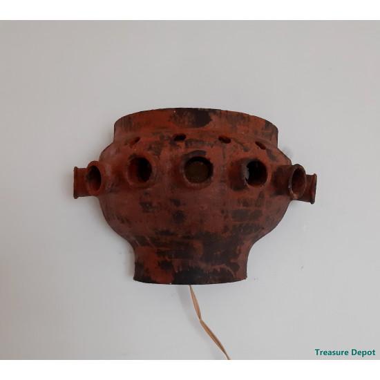 Brutalist wall lamp