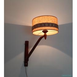 T. Zweers wooden lamp