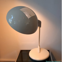 White eighties desk lamp