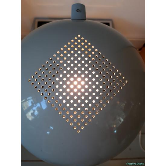 White eighties desk lamp