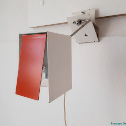 Sixties wall clamp lamp