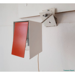 Sixties wall clamp lamp