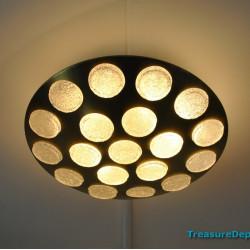 Space age ceiling lamp Doria
