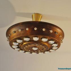 Ceiling lamp industrial, rusty look