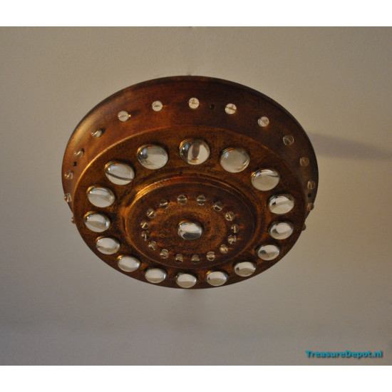 Ceiling lamp industrial, rusty look