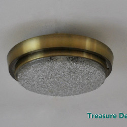 Golden ceiling lamp