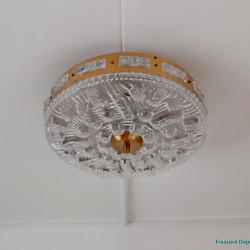 Hollywood Regency style ceiling lamp