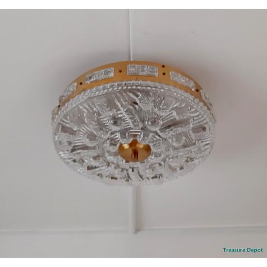 Hollywood Regency style ceiling lamp