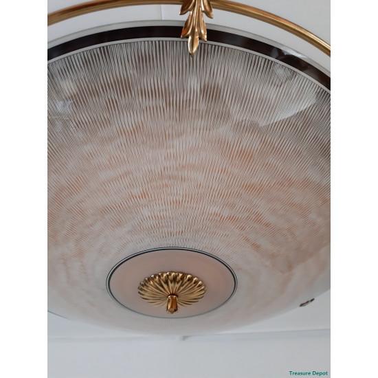 Art Deco ceiling lamp