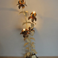 Floral fifties floorlamp