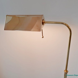 Brass floor lamp by Solken Leuchten