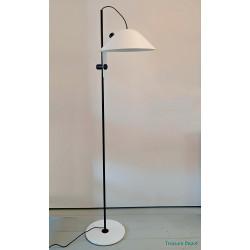 Black & white floor lamp