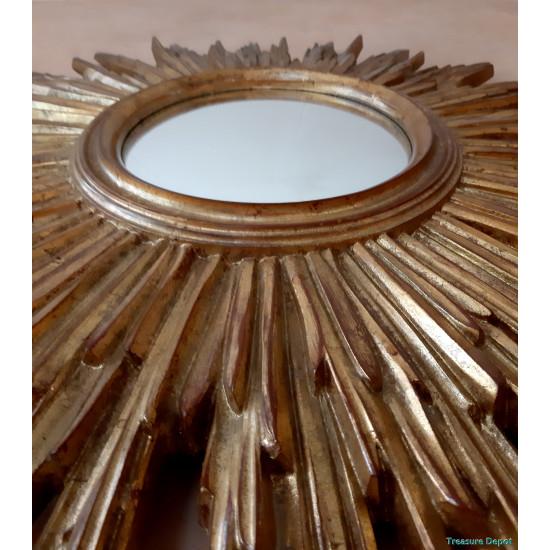 Resin sunburst mirror