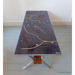 Adri Belgique tiles table
