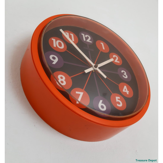Hanson 1970 wall clock