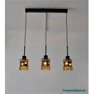 Flygsfors Sweden trio hanging lamp