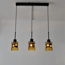 Flygsfors Sweden trio hanging lamp