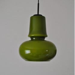 Green glass pendant