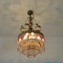 Charleston style chandelier