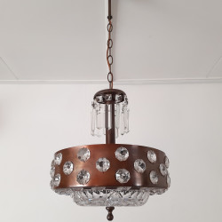 Steampunk hanging lamp