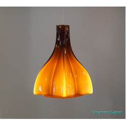 Peill & Putzler amber coloured lamp