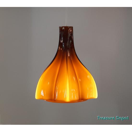 Peill & Putzler amber coloured lamp