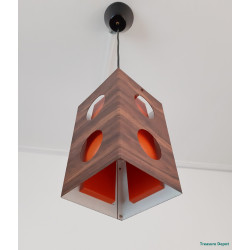Small Space Age hanging lamp