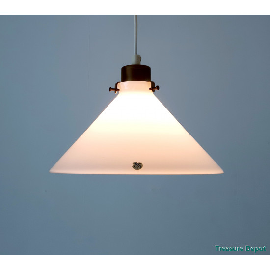 Aneta Sweden opal glass lamp