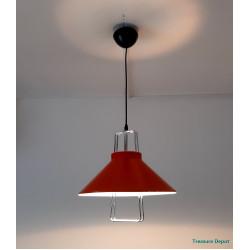Hanging lamp orange