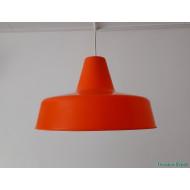 Plastic orange pendant