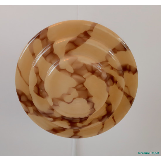 Art Deco marbled lamp