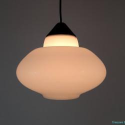Fifties hanging lamp glass