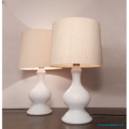 Holmegaard XXL pair table lamps