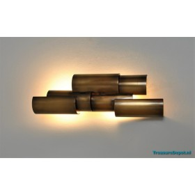 Brutalist wall lamp