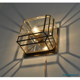 """Caged"" lamp"