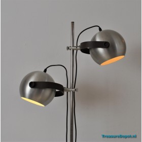 Floorlamp double sphere