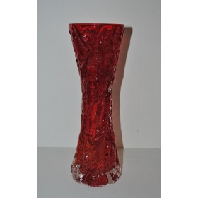 Ingrid Glashutte red vase Diabolo